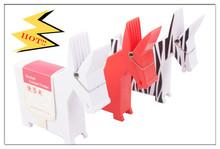 office supplies wholesale memo clip with cute plastic office desk pen holder