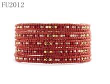 FU2012 Europe Popular Style Small Wrap Around Beads Handmade Wrap Bracelet
