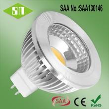 led residential lighting dimmable mr16 cob led lamp 12v 50w halogen equivalent led bulb