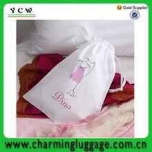 Wholesale OEM factory cotton calico lingerie bag