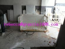 Blanco blanco polvo de mármol para el piso / decoración de la pared