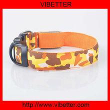 led flashing dog & cat collars cheaper flashing lights dog collar silicone dog collar