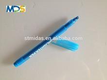 Blue pens plastic marker pen school&office highlighter pen