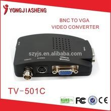BNC/AV To VGA Adapter Converter Box av to vga converter