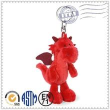 Animal Shaped Plush Toy 2015 new style key chain lanyard