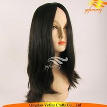 Hot Sell Super Fine Dark Brown Unprocessed Virgin European Hair Jewish Wigs For Women