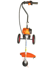 4 stroke gasoline engine wheeled brush cutter