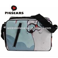 28cm Pop Special patern computer printing Doodle Design Waterproof Canvas Shoulder Bag