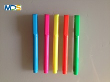 Thin highlighter pen new plastic maker pen chirlren using highlighter pen