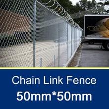 50x50mm Galvanized Basketball Fence Netting
