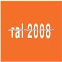 Epoxy/Polyester Resin RAL2008 Bright red orange powder coating