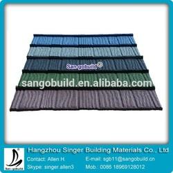 Stone Coated Aluminum Roofing/Stone Coated Steel Roofing/Colorful Stone Coated Steel Roof Tile For Sale