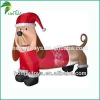 2014 latest fashion product christmas inflatable dachshund