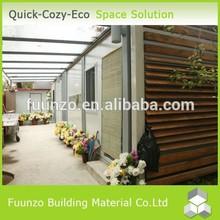 Environmental Friendly Cost Effective Prefabricated PVC Beach House