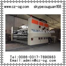 2015 popular cheap carton box printer slotter machine