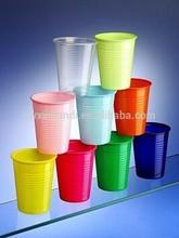 200cc disposable colorful plastic cups, PP cups /colorful Disposable Tumbler