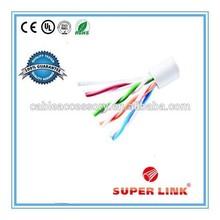 Competive price high speed bulk utp cat5e network cable 4pr 24awg cca/ccs/bc/cu conductor