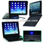 Wireless bluetooth keyboard case mini PC keyboard ABS keyboard with magnet case for iPad Air 2/ iPad 6