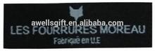 custom clothing label maker/custom woven labels for clothing/woven garment label