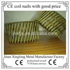 Chinese iron steel nails factory /clavos en rollos/pregos