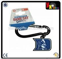 NCAA Duke Blue Devils PVC Carabiner Keychain/masha and the bear toy