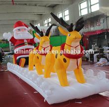 12 .31th- 2014 christmas inflatable santa claus/ residential christmas decorations/20ft christmas inflatable santa MK-33