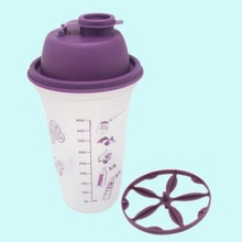 500ML plastic shaker with printing