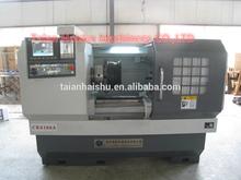 HS-CK6166A HOT SALE alloy wheel lathe cnc machine made in china