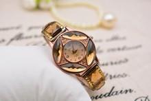 Top quality fashion luxury 2014 trendy women watch quartz