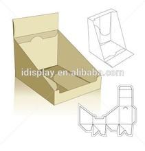 Custom printed cardboard Magazine / Book Countertop Display with Header