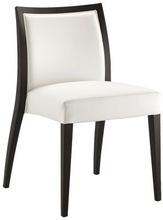 commercial contract wood chairs, elegant white commercial chair MX-6001
