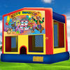 birthday party inflatable bouncer/inflatable jump house/moonbounce rentals