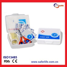 mini gift Professional white Homopolymer PP plastic Micro First Aid Kit