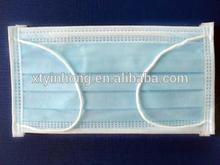 3 layer earloop non woven human face mask