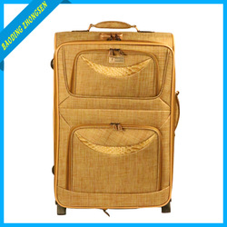 Expandable Rolling Luggage 4PCS Polyester Luggage For Traveling