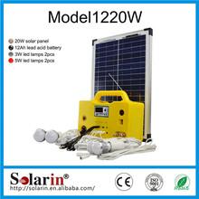 mini 500w renewable sealed lead acid battery dry charge12v200ah solar system