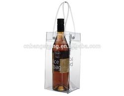 2014 China Waterproof Plastic cooler bag wine pvc, vinly wine bag