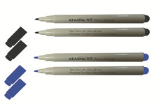 Kearing steriled customized safe tattoo marking pen, with 1.0mm or 0.5mm nib, for tattoo skin marking #TM10