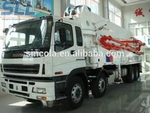 Zhengzhou Sincola daewoo concrete pump truck
