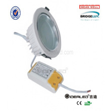 white epistar 7w ip65 led square downlight
