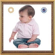 100% cotton summer infant polo t-shirt