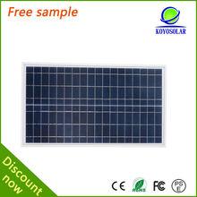 A grade material 3BB solar cell poly 100w solar panel