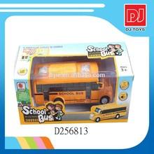cartoon model car toy die cast school bus D256813