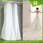 FACTORY SALE HOT SALE Garment Bag Type hanging garment storage bag/good quality customized wedding dress gown garment bags