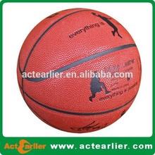 custom logo branded basketball