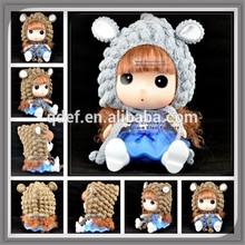 Crochet baby animal toddler photo prop Light brown grey sheep hat Sweet lamb sheep hat