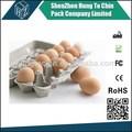 2015 quente de moldagem de celulose de papel do ovo de galinha caixas de direto de fábrica