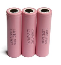 18650 lithium battery best price li-ion battery 18650 lg 3000mah 3.7v pink li-ion battery cells