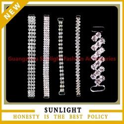 Wholesale Rhinestone Chain Connector For Bikini Accessories