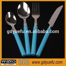 Plastic Handle Stainless Steel Dinnerware
